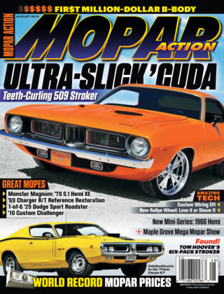 Mopar Action August 2015