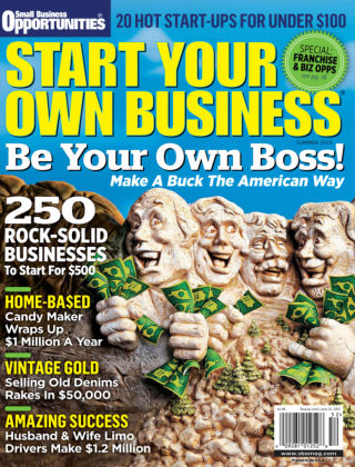 Start Your Own Business Summer 2015