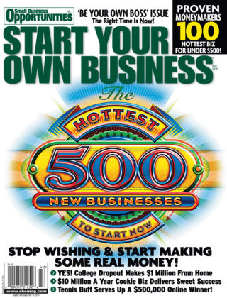 Start Your Own Business Fall 2014