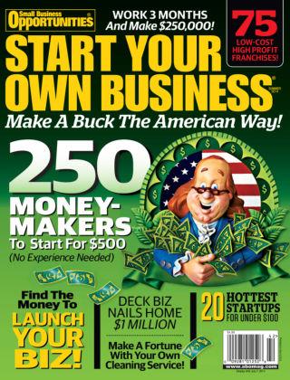 Start Your Own Business Summer 2014