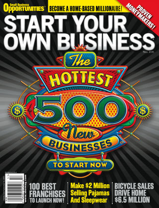Start Your Own Business Fall 2015
