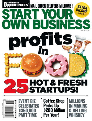 Start Your Own Business Spring 2016