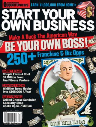 Start Your Own Business Summer 2016
