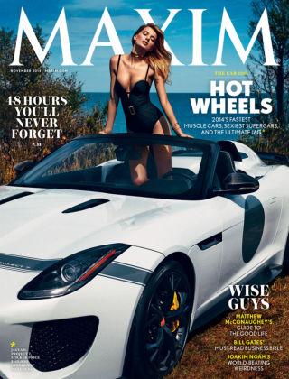 Maxim November 2014