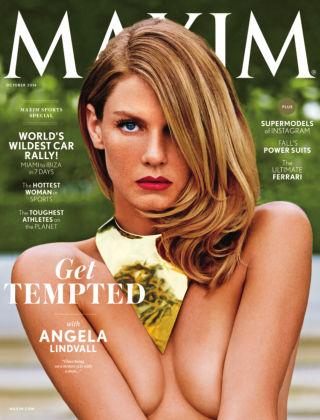Maxim October 2014
