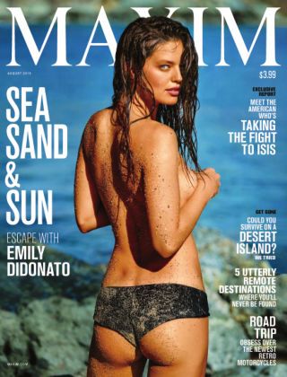 Maxim August 2015