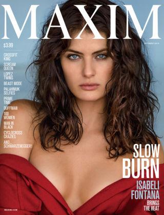 Maxim October 2015