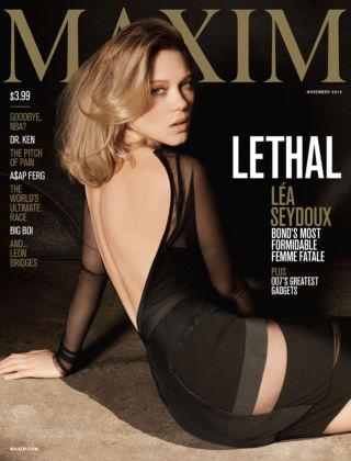 Maxim November 2015