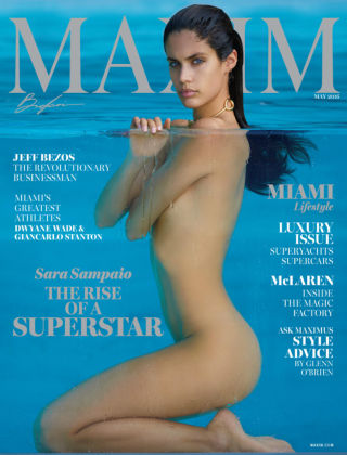 Maxim May 2016