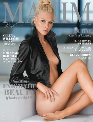 Maxim Aug 2016