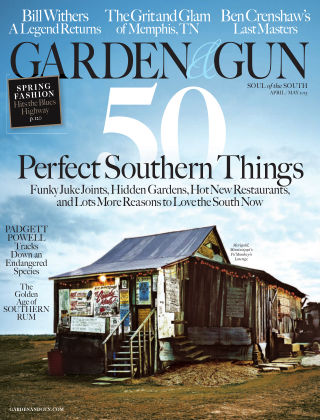Garden & Gun April/May 2015