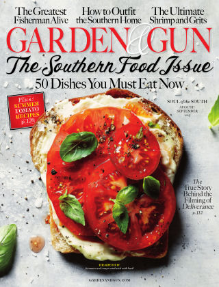 Garden & Gun Aug/Sept 2015