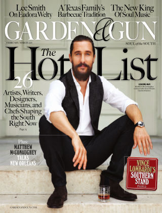 Garden & Gun Feb/Mar 2016