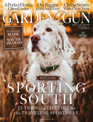 Garden & Gun Dec/January 2017