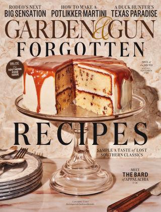 Garden & Gun Aug - Sept 2020