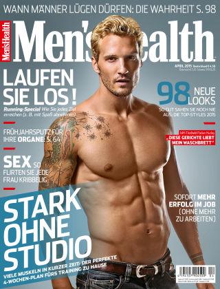Men's Health - DE 04/2015