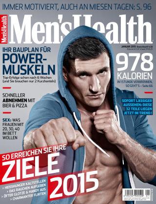 Men's Health - DE 01/2015