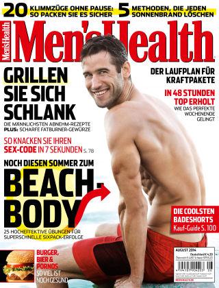 Men's Health - DE 08/2014