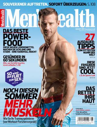 Men's Health - DE 08/2015