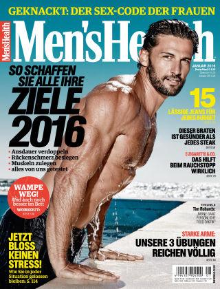 Men's Health - DE 01/2016