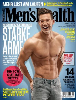 Men's Health - DE 04/2016