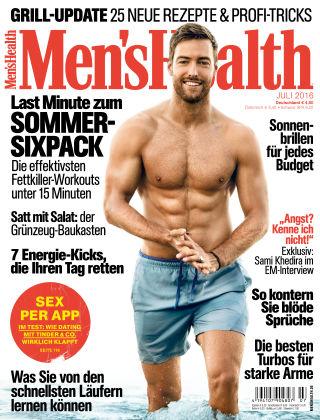 Men's Health - DE 07/2016