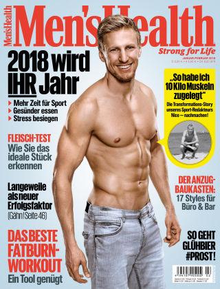 Men's Health - DE 01-02/2018