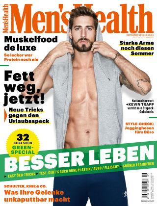 Men's Health - DE 09 2019