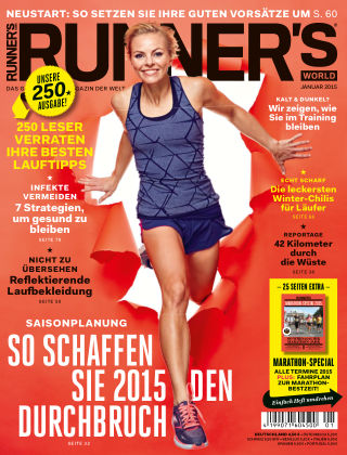RUNNER'S WORLD - DE 01/2015