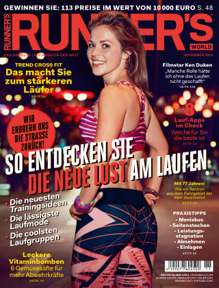 RUNNER'S WORLD - DE 11/2014
