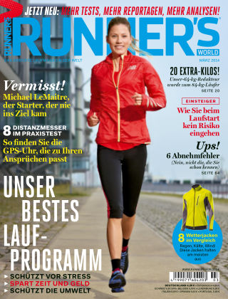 RUNNER'S WORLD - DE 03/2014
