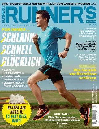 RUNNER'S WORLD - DE 07/2015