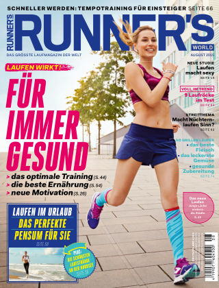 RUNNER'S WORLD - DE 08/2015