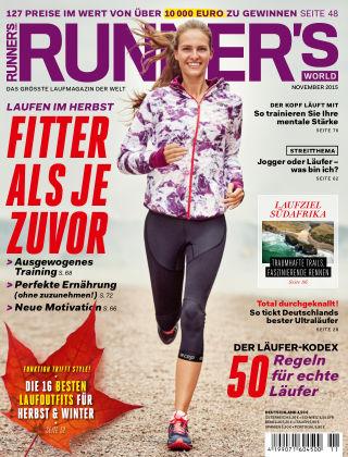 RUNNER'S WORLD - DE 11/2015