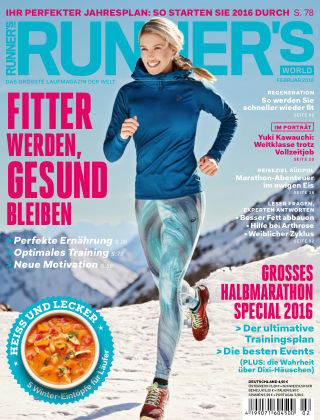 RUNNER'S WORLD - DE 02/2016