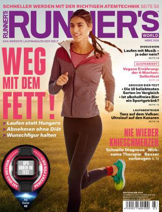 RUNNER'S WORLD - DE 03/2016