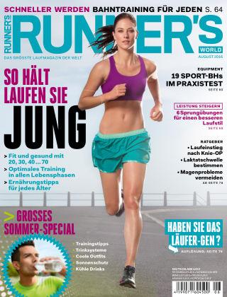RUNNER'S WORLD - DE 08/2016