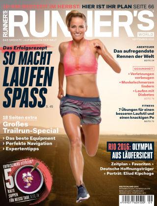 RUNNER'S WORLD - DE 09/2016
