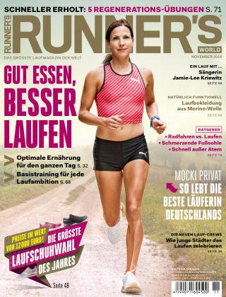 RUNNER'S WORLD - DE 11/2016