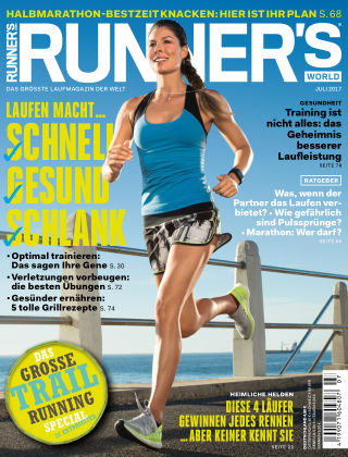 RUNNER'S WORLD - DE 07/2017