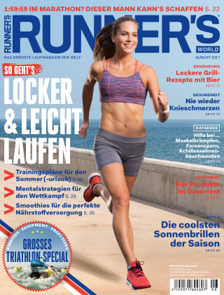RUNNER'S WORLD - DE 08/2017
