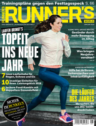RUNNER'S WORLD - DE 01/2018