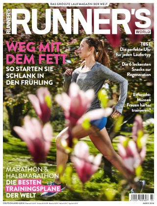 RUNNER'S WORLD - DE 03/2018