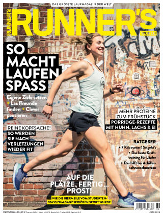RUNNER'S WORLD - DE 06/2018