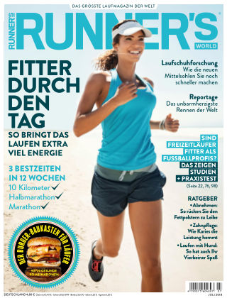 RUNNER'S WORLD - DE 07/2018