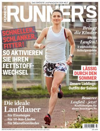 RUNNER'S WORLD - DE 07 2019