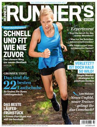 RUNNER'S WORLD - DE 10 2019