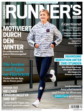 RUNNER'S WORLD - DE 12 2019