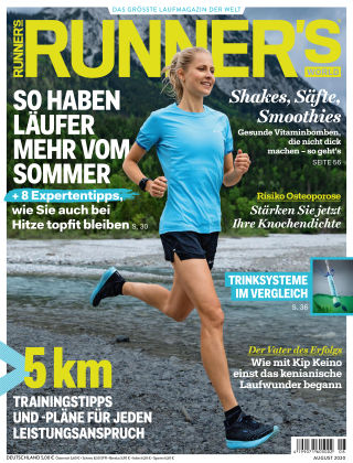 RUNNER'S WORLD - DE 08 2020