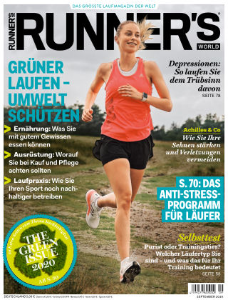 RUNNER'S WORLD - DE 09 2020